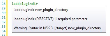 New syntax in NSIS 3