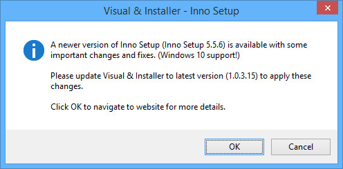 Latest NSIS and Inno Setup release